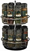 McCormick Gourmet Spice Rack, Two Tie…