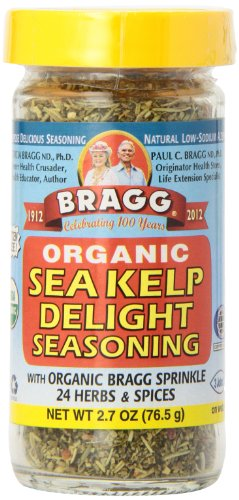 Bragg Seasoning, Sea Kelp Delight, 2.7-Ounce (Pack of 4)