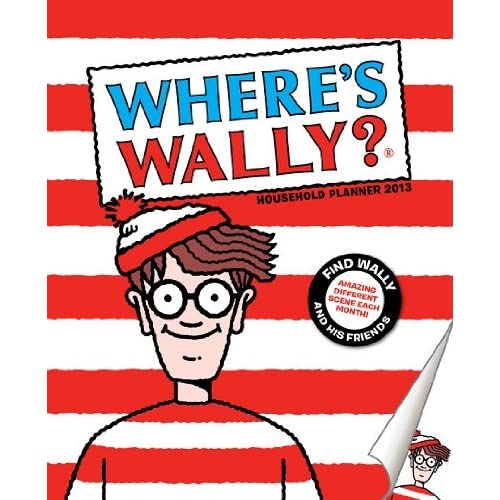 Wheres Wally Household Wall 2013: Planner