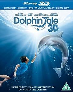 Dolphin Tale (Blu-ray 3D + Blu-ray + DVD + UV Copy) [2012] [Region Free]