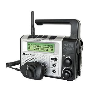 Midland Xt511 Marine Boat Two-Way Base Camp Weather Alert Radio by Midland