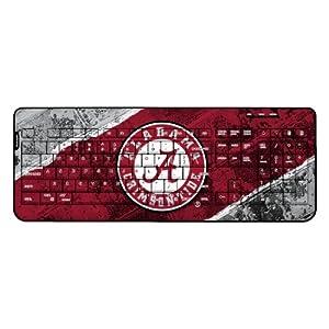 NCAA Alabama Crimson Tide Wireless USB Keyboard by Keyscaper