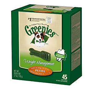 GREENIES® Weight Management Treat Tub-PakTM for Dogs-Petite, 27 ounce