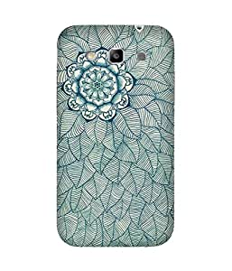 Flower And Lead Doodle Samsung Galaxy Grand Quattro I8552 Case