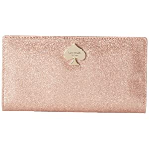 kate spade new york Glitter Bug Stacy PWRU3473 Wallet,Rose Gold,One Size