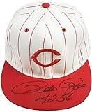 "Pete Rose Cincinnati Reds Autographed Baseball Hat with""4256"" Inscription - Fanatics Authentic Certified"
