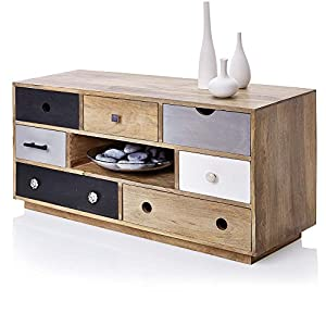 Buying Guide of  Multi Colour Drawers Wooden TV Cabinet