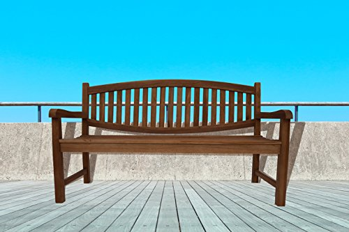 SAM® A Klasse Teak Holz, 3 Sitzer Gartenbank, Sitzbank, Holzbank, 160 cm, Orlando kaufen
