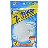 フィッティ 7DAYSマスク シルキータッチ ホワイト 7枚入
