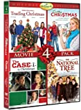 Hallmark Holiday Collection Movie 4 Pack (Trading Christmas, Lucky Christmas, Case For Christmas, National Tree) (Hallmark)