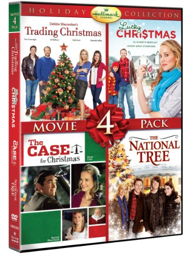 51lDsH5BHCL Hallmark Holiday Collection Movie 4 Pack (Trading Christmas, Lucky Christmas, Case For Christmas, National Tree) (Hallmark)