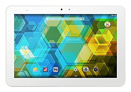 "BQ Edison 3 Tablette tactile 10,1"" (25,65 cm) (16 Go, Android KitKat 4.4, 1 Port USB 2.0, 1 Prise jack, Wi-Fi, Blanc)"
