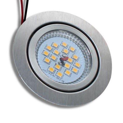 6er-Set-Flache-SMD-LED-Einbauleuchte-Julia-230Volt-3Watt-IP20-EEK-A--71mm-ET24mm