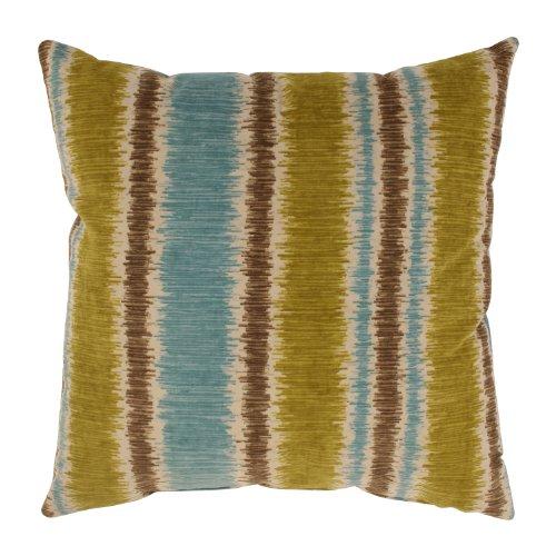 Pillow Perfect Ismir 16.5-Inch Throw Pillow, Citron
