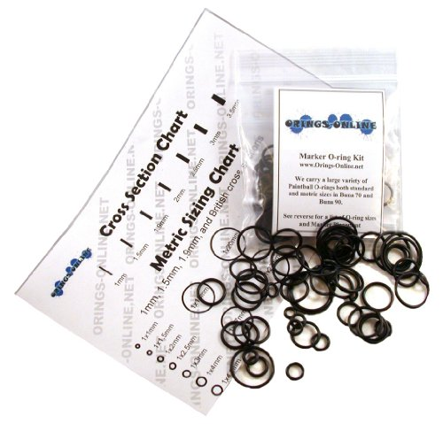 WDP Angel 1 Paintball Marker O-ring Kit - 2 Rebuilds