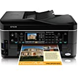 Epson WorkForce 645 Wireless All-in-One Color Inkjet Printer, Copier, Scanner, Fax, iOS/Tablet/Smartphon...