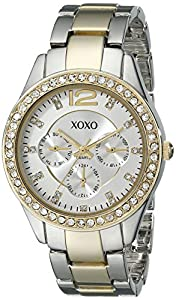 XOXO Women's XO5478 Metal and Rhinestones Watch
