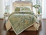 Noble Excellence Villa Del Mar King Size 4 Piece Duvet Set with Shams & Pillow Multi