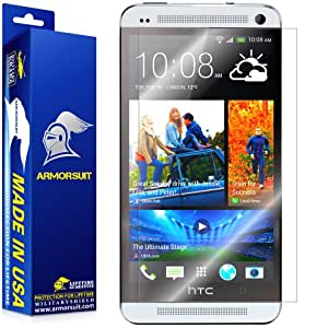 ArmorSuit MilitaryShield - HTC One M7 Screen Protector Shield Ultra Clear + Lifetime Replacements