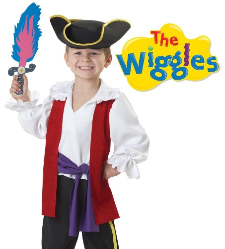 California Costumes The Wiggles Captain Feathersword Costume