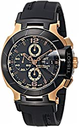 Tissot Men's T0484272705701 T-Race Automatic Chronograph Watch