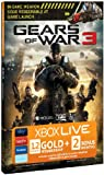 Xbox LIVE Gold 12-Month Membership Card with 2 Bonus Months - Gears of War 3 Branded (Xbox 360)