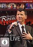 Semino Rossi - Die Liebe bleibt (Live) (2DVD + 2CD)