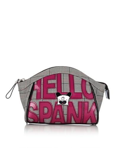Hoy Collection Trousse Serafina Hello Spank Lettering [Avorio/Nero]