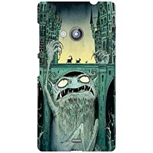 Printland Painting Phone Cover For Nokia Lumia 535