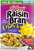 Raisin Bran Crunch Cereal, 18.2 -Ounce Boxes (Pack of 4)