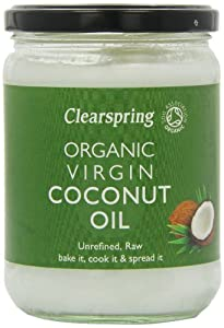 Clearspring Organic Virgin Coconut Oil 400 g