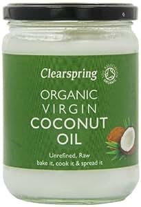 Clearspring Organic Virgin Coconut Oil 400 g