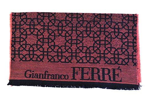 Gianfranco Ferre Sciarpa Nero lana 172cm x 38cm
