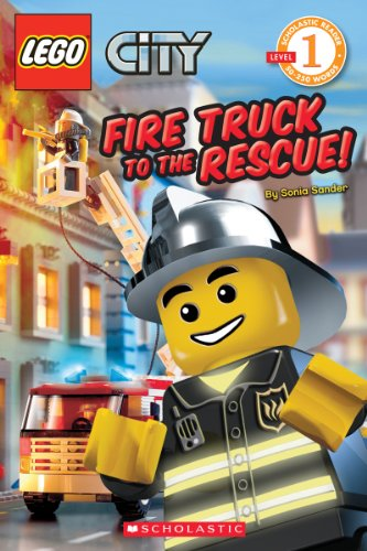 Fire-Truck-to-the-Rescue-LEGO-City-Scholastic-Reader-Level-1