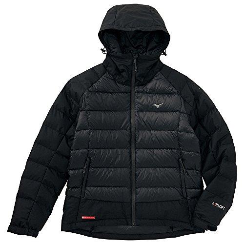 (ミズノ)Mizuno ブレスサーモダウン エアロフトハイブリッドジャケット [MEN'S] A2JE4641 09 ブラック XL