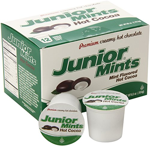Junior Mint Hot Cocoa for Keurig K-Cup Brewers, 12 Count (Pack of 6) 4