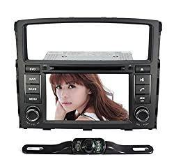 See Pumpkin For Mitsubishi Pajero 2006-2011 In Dash HD Touch Screen Car DVD GPS Radio Blutooth 7 inch DVR 1080P 3G Stereo With Free 4GB Map Card with free reverse backup rear view reversing camera as gift Details