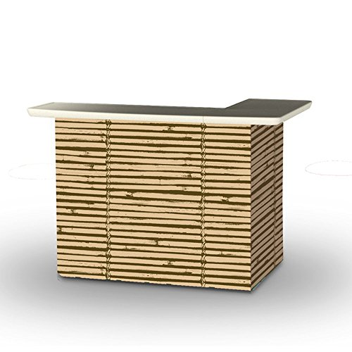 Best-of-Times-Portable-Patio-Bar-Table-Luau-Tiki