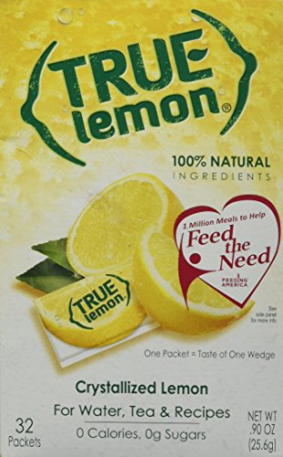 True Citrus True Lemon Gluten Free -- 32 Packets (Juice Packets compare prices)