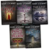 Mary Stewart King Arthur 5 Books Collection Set Magical Merlin The Crystal Cave