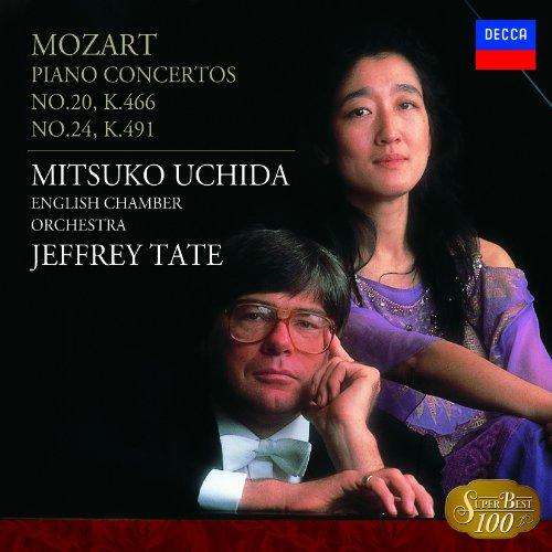 モーツァルト:ピアノ協奏曲第20番&24番 - 内田光子