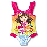 Nickelodeon Little Girls' Dora the Explorer One Piece Swimsuit