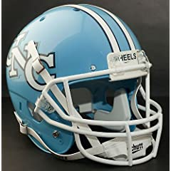NORTH CAROLINA TAR HEELS 1980-1985 Schutt AiR XP Authentic GAMEDAY Football Helmet... by ON-FIELD