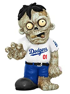MLB Los Angeles Dodgers Pro Team Zombie Figurine by Forever Collectibles