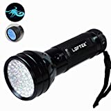 LOFTEK® 51 UV 395 nM Ultraviolet LED flashlight Blacklight with feature Currency Detector