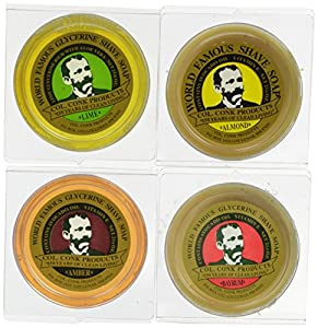 Colonel Conk Glycerin Soap - Variety 4 Pack