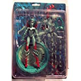 WEBWITCH * GREEN VARIANT * Avatar Press 7 Inch RENDITION 1998 Action Figure & Accessories ~ Rendition