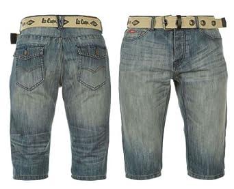 short en jean avec ceinture Lee Cooper (xl)