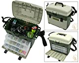 Ace Angling™ Large Fishing Tackle Box. Can Be Used As Seat Box. Carp Sea Rigs Boat Tackle Box