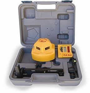 PLS Laser PLS-60536 PLS360 Laser Level System with Detector, Yellow